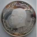 0000140 TUNISIA 1982 5 DINARS SILVER GEM PROOF CHILD