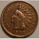 0000228 USA Indian Cent 1902