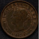 0000247 1871 Prince Edward Island (Canada) One Cent