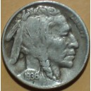 USA 1936-D Full Dated Buffalo Nickel