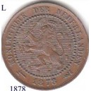 Netherlands Willem III 1 cent 1878
