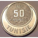 Tunisian Kingdom 50 Francs 1957, Uncirculated