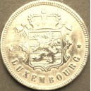 LUXEMBOURG 25 Centimes 1927 CHARLOTTE